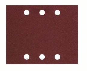 10-dielna súprava brúsnych listov 115 x 140 mm, 60