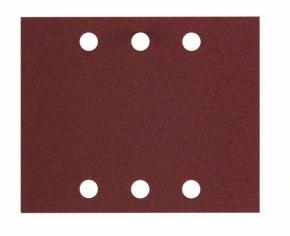10-dielna súprava brúsnych listov 115 x 140 mm, 80