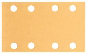 10-dielna súprava brúsnych listov 80 x 133 mm, zrnitosť 80