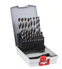 19-dielna súprava vrtákov do kovu HSS Bosch PointTeQ ProBox