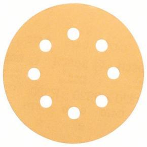 5-dielna súprava brúsnych listov 115 mm, zrnitosť 240