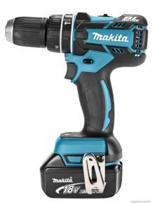 Aku príklepový vŕtací skrutkovač Makita DHP480RMJ, bezuhlíkový