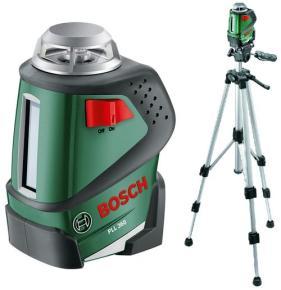Set líniový laser Bosch PLL 360