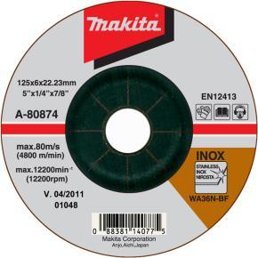 Brúsny kotúč na nerez Makita A-80656