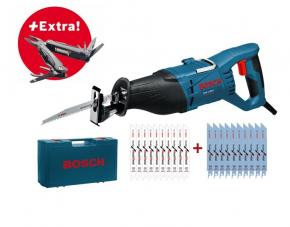 Chvostová píla Bosch GSA 1100 E a príslušenstvo