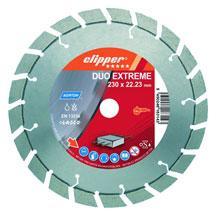 Diamantový kotúč na betón a železobetón Clipper Duo Extreme