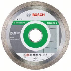 Diamantový rezací kotúč Bosch Standard for Ceramic Standard for Ceramic 125 mm