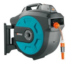 Nástenný box na hadicu Gardena 35 roll-up automatic Li-Ion Comfort