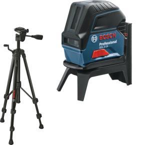 Krížovo-bodový laser Bosch GCL 2-15 s RM 1 a BT 150