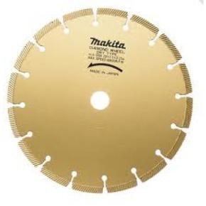 Diamantový kotúč na rezanie nasucho - segmentový - Makita