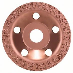 Miskovitý brúsny kotúč so zrnom z tvrdého kovu 115 x 22,23 mm; jemný, plochý