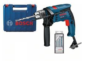 Príklepová vŕtačka Bosch GSB 13 RE so sadou vrtákov