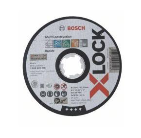 Rezací kotúč 125x22,23x1,0mm, X-LOCK Bosch Multi Material