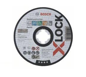 Rezací kotúč, 125x22,23x1,6, X-LOCK Bosch Multi Material
