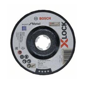 Rezací kotúč, 125x22,23x6,0, X-LOCK Bosch Expert Metal
