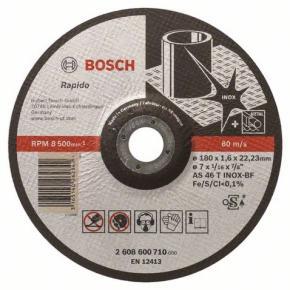 Rezací kotúč s prelisom - na nehrdzavejúcu oceľ (Inox) AS 46 T INOX BF, 230 mm,