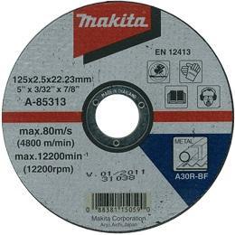Rezný kotúč na železo Makita A-85313