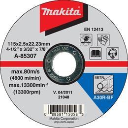 Rezný kotúč na železo Makita A-85307