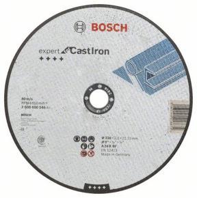 Rovný rezací kotúč na liatinu AS 24 R, 230 mm, 22,23 mm, 3 mm