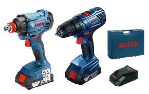 Sada náradia Bosch GDX 180-LI a GSR 180-LI