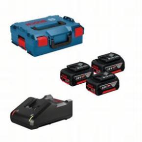 Štartovacia sada GBA 18V 5,0Ah(3x)+GAL 18-40 CV;L-Boxx18V