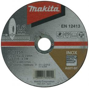 Tenký rezný kotúč na nerez Makita B-12251