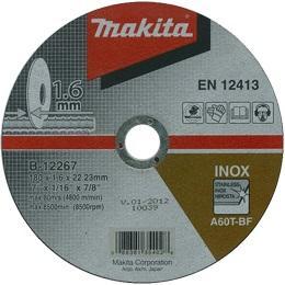 Tenký rezný kotúč na nerez Makita B-12267