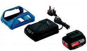 Základná súprava Bosch GBA 18 V 2,0 Ah MW-B a GAL 1830 W Wireless Charging Professional