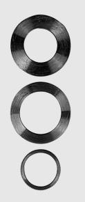 Redukčný krúžok pre pílové kotúče 25 x 16 x 1,5 mm