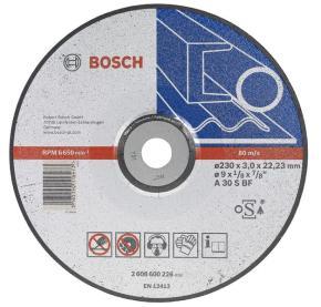 Rezací kotúč s prelisom na kovy A 30 S BF, 115 mm, 22,23 mm, 2,5 mm