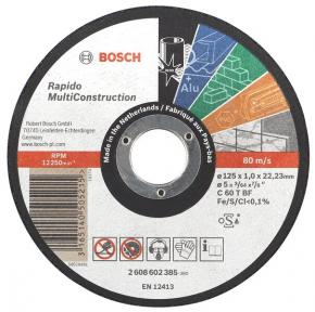 Rovný rezací kotúč Multi Construction 115 mm, 22,23 mm, 1,0 mm
