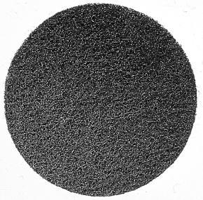 Brúsna plsť 128 mm, 100, korund, hrubý