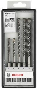 5-dielna súprava vrtákov do kladív Robust Line S4L 5; 6; 6; 8; 10 mm