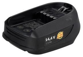 14,4 V zásuvný akumulátor DIY, 1,5 Ah, Li Ion