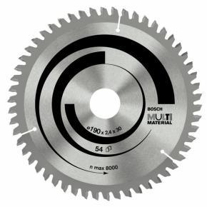 Pílový kotúč Multi Material 190 x 30 x 2,4 mm, 54