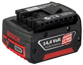 14,4 V zásuvný akumulátor HD, 3 Ah, Li Ion