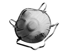 Ochranná maska proti pachom a jemnému prachu EN 149 FF P2