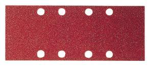 10-dielna súprava brúsnych listov 80 x 166 mm, 120