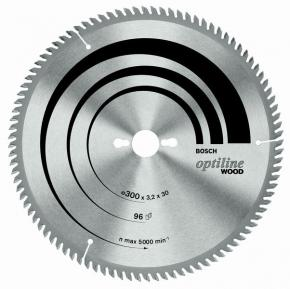 Pílový kotúč Optiline Wood 300 x 30 x 3,2 mm, 48