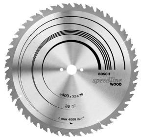 Pílový kotúč Speedline Wood 400 x 30 x 3,5 mm, 36