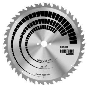 Pílový kotúč Construct Wood 300 x 30 x 2,8 mm, 20