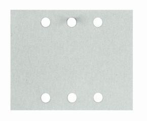 10-dielna súprava brúsnych listov 115 x 140 mm, 120