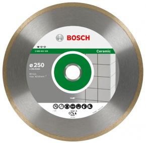 Diamantový rezací kotúč Professional for Ceramic 200 x 25,40 x 1,6 x 7 mm
