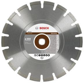 Diamantový rezací kotúč Professional for Abrasive 350 x 20,00+25,40 x 2,8 x 10 m