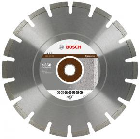 Diamantový rezací kotúč Professional for Abrasive 400 x 20,00+25,40 x 3,2 x 10 m