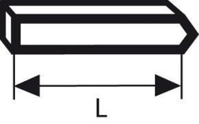 Kolík, typ 41 14 mm