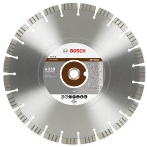 Diamantový rezací kotúč Best for Abrasive 350 x 20,00+25,40 x 3,2 x 15 mm