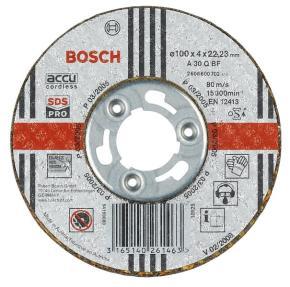 Rovný brúsny kotúč na nehrdzavejúcu oceľ (Inox), SDS-pro A 30 Q BF, 100 mm, 22,2