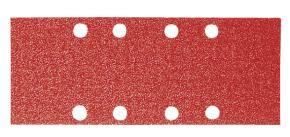 50-dielna súprava brúsnych listov 93 x 180 mm, 240