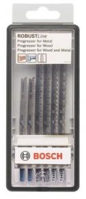 6-dielna súprava pílových listov do priamočiarych píl Robust Line Progressor, so